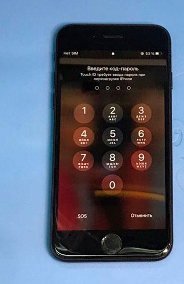 Замена стекла на iPhone в Калининграде